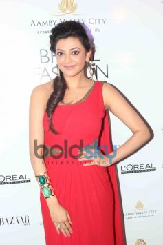 Kajal Agarwal at IBFW 2013 Gaurav Gupta Show Day 2