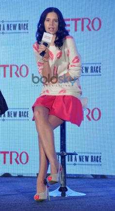 kalki koechlin during Launch of Metro shoes campaign