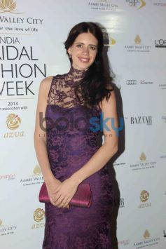 Kalki Koechlin at IBFW 2013 Gaurav Gupta Show Day 2