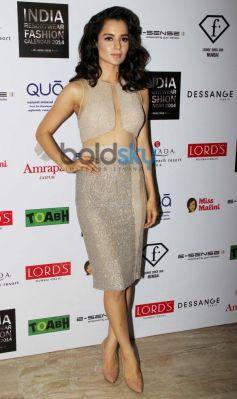Kangana Ranaut during Resortwear 2014 fashion calendar launch