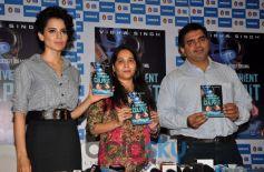 Kangana Ranaut launches Vibha Singh's book A Convenient Culprit