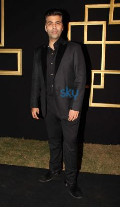 Karan Johar at Deepika Padukone Black and Gold Party