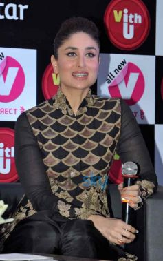 Kareena Kapoor during v vith you app launch Press Conference