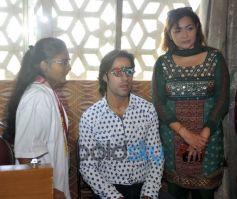 Karle Pyar Karle Hero at Medical Eye Camp