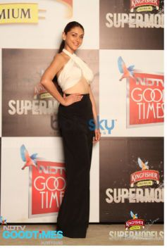 Aditi Rao Hydari at Kingfisher Supermodels Grande Finale on NDTV Good Times