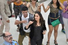 Madhuri Dixit dance moves on the sets of Oral-B ad shoot