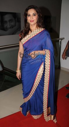 Madhuri Dixit during Music launch of film Dedh Ishqiya