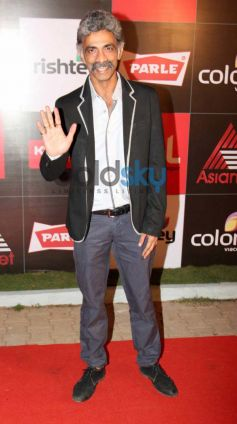 Makarand Deshpande at CCL Inaguration Red Carpet 2014