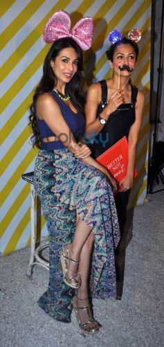 Malaika Arora with Amrita Arora at Launch Closet Label In Style