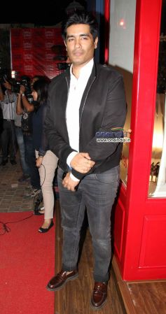 Manish Malhotra during Launch of the store Bandra 190