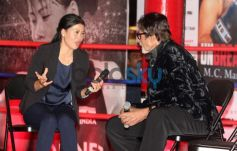 Mery Com and Amitabh Bachchan discussion at Launch