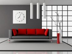 Metallic For Living Room