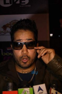 Mika Singh at Press conference of MTV BOLLYLAND at Welcom Hotel Dwarka