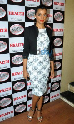 Mugdha Godse at launch Health Mag Silver Jubilee Edition