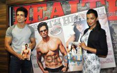 Mugdha and Sonu launch Health Mag Silver Jubilee Edition