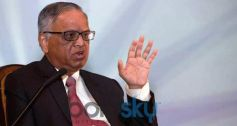 Narayan Murthy at NDTV's SOLUTIONS A GLOBAL SUMMIT