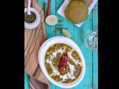 Palak Corn Curry Recipe