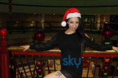Playboy girl Shanti Dynamite turn sexy Santa clause