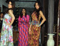 Poonam Bajaj and Artist Sunayana Malhotra Fashion show