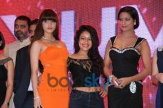 Poonam Pandey  with Guest at Launch of Yuva Bharat Express Magazine