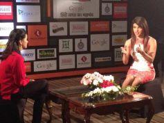 Priyanka Chopra attend the Agenda Aaj Tak program