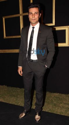 Randeep Hooda at Deepika Padukone Black and Gold Party