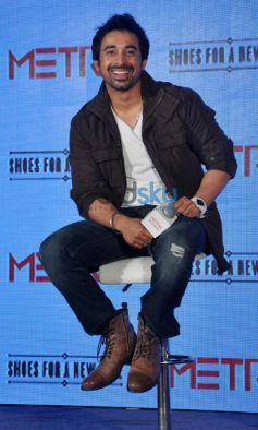 Rannvijay Singh during Launch of Metro shoes campaign