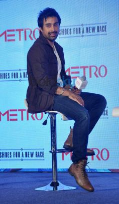 Rannvijay Singh at Launch of Metro shoes campaign