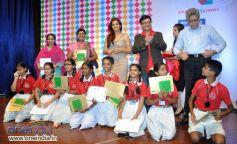 Raveena Tandon judge Save Electricity kids competition