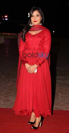 Richa Chadda at Aamna Sharif Amit Kapoor Wedding Reception