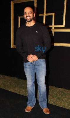 Rohit Shetty at Deepika Padukone Black and Gold Party