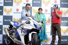Salman Khan during  launch of Suzuki Biking Lords