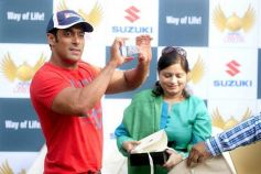 Salman Khan at the launch of Suzuki Biking Lords