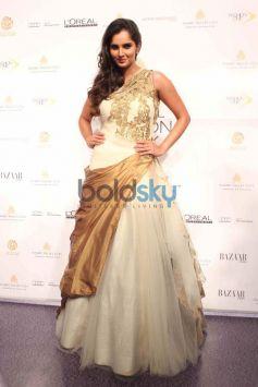 Sania Mirza during IBFW 2013 show