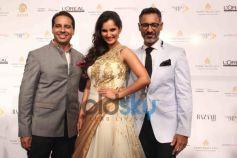 Sania Mirza with Shantanu and Nikhil during show