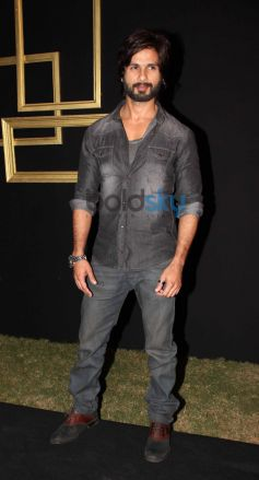 Shaheed Kapoor during Deepika Padukone Black and Gold Party