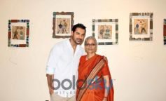 Shalan Dere with John Abraham during Event