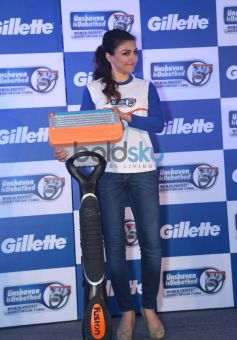 Soha Ali Khan at the Gillette SIM