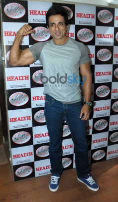 Sonu Sood at launch Health Mag Silver Jubilee Edition