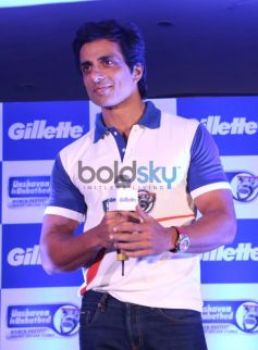 Sonu Sood at the Gillette SIM