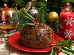 Sugarless Christmas Cake