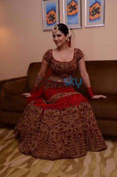 Sunny Leone during Ramola Bachchan Runway Rising