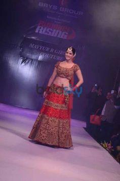 Sunny Leone walks the ramp at Ramola Bachchan Runway Rising