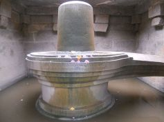 The Quartz Shiva Linga
