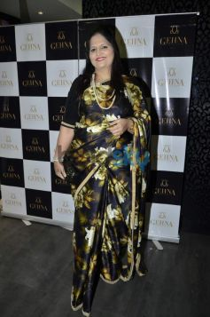 Usha Kakade during Gehna Jewellers 2014 Event