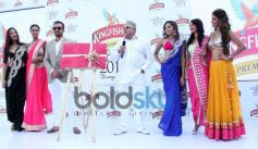 Vijay Mallya Launch of Kingfisher Calendar 2014