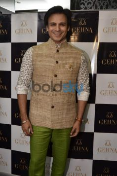 Vivek Oberoi during Gehna Jewellers 2014 Event