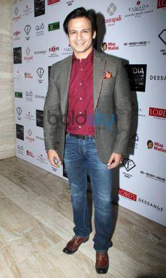 Vivek Oberoi during Resortwear 2014 fashion calendar launch