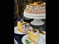 X Mas Spcl Orange Cake With Chocolate