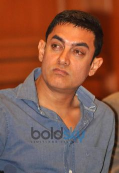 Aamir Khan during Road Safety Event